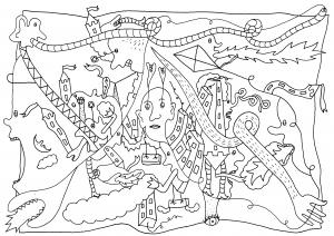 Jambaan - pen op papier - 21 x 29,7 - 2016