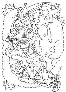 Snoepsnaak - pen op papier - 14,8 x 21 - 2016